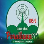 Logo da emissora Super Rádio Paraibuna 105.9 FM