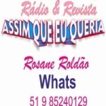 Logo da emissora Rádio Assim Que Eu Queria