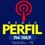 Logo da emissora Rádio Perfil 104.9 FM