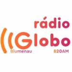 Logo da emissora Rádio Globo Blumenau 820 AM