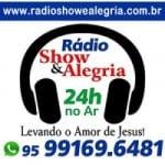 Logo da emissora Rádio Show e Alegria