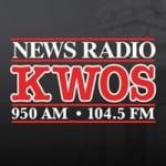 Logo da emissora KWOS 950 AM