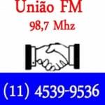 Logo da emissora Rádio União 98.7 FM