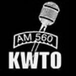 Logo da emissora KWTO 560 AM