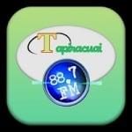 Logo da emissora Radio Tapiracuai 88.7 FM