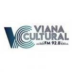 Logo da emissora Radio Viana Cultural 92.8 FM