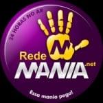 Logo da emissora Rede Mania 105.9 FM