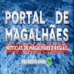 Logo da emissora Rádio Portal de Magalhães