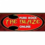 Logo da emissora Radio Pure Rock The Blaze OnLine