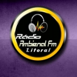 Logo da emissora Rádio Ambiental FM Litoral
