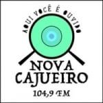 Logo da emissora Rádio Nova Cajueiro 104.9 FM