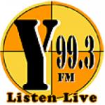 Logo da emissora Radio KWAY Y 99.3 FM