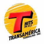 Logo da emissora Rádio Transamérica Hits 97.1 FM