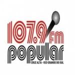Logo da emissora Rádio Popular 107.9 FM