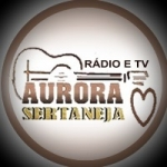 Logo da emissora Aurora Sertaneja