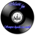 Logo da emissora Music FM Sempre Ligada em Você