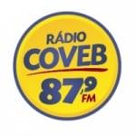 Logo da emissora Rádio Coveb 87.9 FM