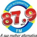 Logo da emissora Rádio Nova Alternativa 87.9 FM