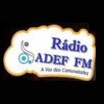 Logo da emissora Web Rádio Adef FM