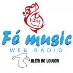 Logo da emissora Rádio Fé Music