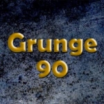 Logo da emissora Radio Grunge 90