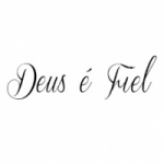 Logo da emissora Deus é Fiel