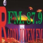 Logo da emissora Rádio Jovem 87.9 FM