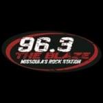 Logo da emissora Radio KBAZ 96.3 FM
