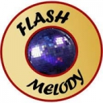 Logo da emissora Flash Melody