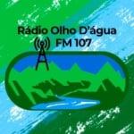 Logo da emissora Rádio Olho D'água 107 FM