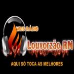 Logo da emissora Rádio Louvorzão RN