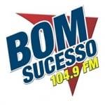 Logo da emissora Rádio Bom Sucesso 104.9 FM