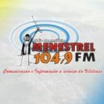 Logo da emissora Rádio Menestrel 104.9 FM