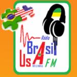 Logo da emissora Usa Brasil FM