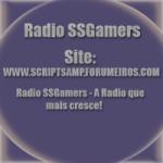 Logo da emissora Rádio SSGamers