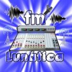 Logo da emissora Rádio Lunática FM