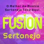 Logo da emissora Rádio Web Fusion Sertanejo