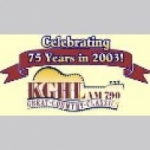 Logo da emissora Radio KGHL 98.5 FM