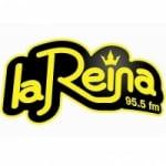 Logo da emissora Radio La Reina 95.5 FM