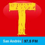 Logo da emissora Radio Tropicana 97.5 FM
