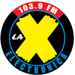 Logo da emissora Radio La X Electrónica 103.9 FM