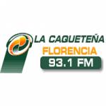 Logo da emissora Radio La Caqueteña 93.1 FM