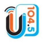 Logo da emissora KKVU 104.5 FM