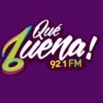 Logo da emissora Radio Que Buena 92.1 FM