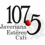 Logo da emissora Radio Javeriana Estéreo 107.5 FM