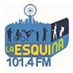 Logo da emissora Radio La Esquina 101.4 FM