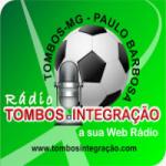 Logo da emissora Rádio Tombos Integração