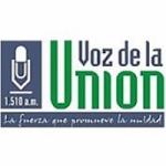 Logo da emissora Radio La voz de la unión 1510 AM