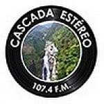 Logo da emissora Radio Cascada Estéreo 107.4 FM