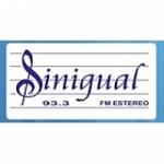 Logo da emissora Radio Sinigual 93.3 FM